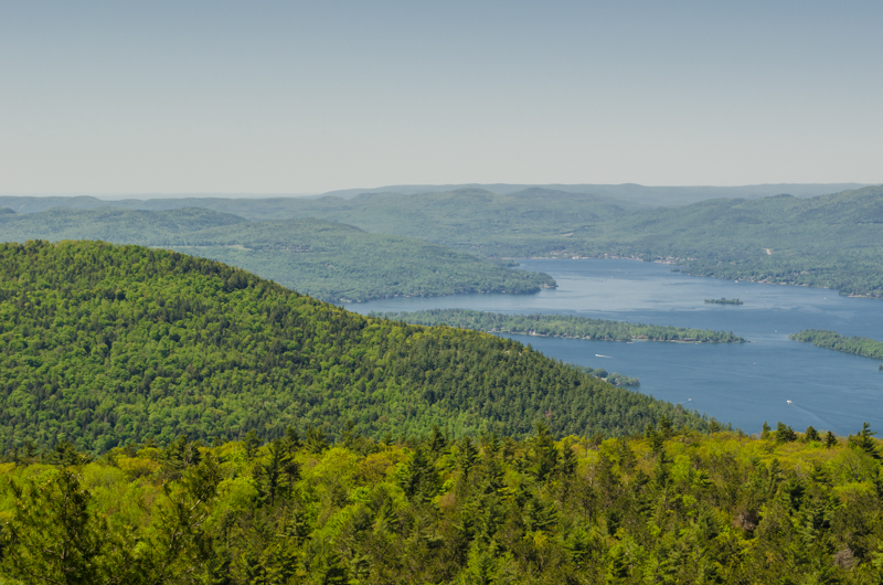 Lake George from Buck Mountain