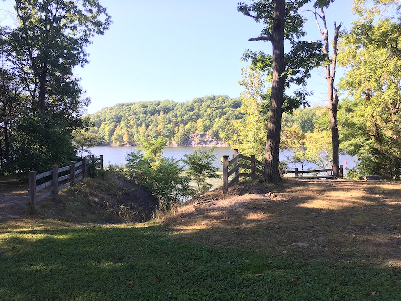 River overlook and picnic area